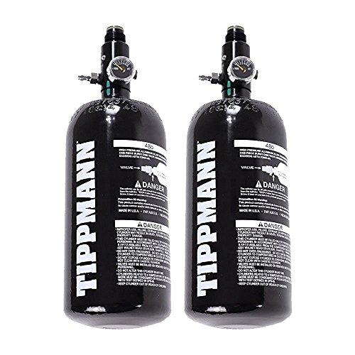 2 - Pack Tippmann Basics 47 / 48ci 3k Aluminum HPA / Nitro / Compressed Air Tank