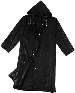Abbraccia Waterproof Rain Poncho Lightweight Reusable Hiking Rain Jacket Hooded Raincoat for Outdoor Activities