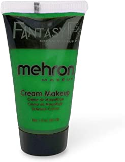 Mehron Makeup Fantasy F/X Water Based Face & Body Paint (1 oz) (KELLY GREEN)