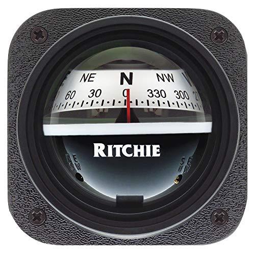 Ritchie Navigation Herren Kayaker Compass Ritchie V-527, Kajaker-Kompass, weiß