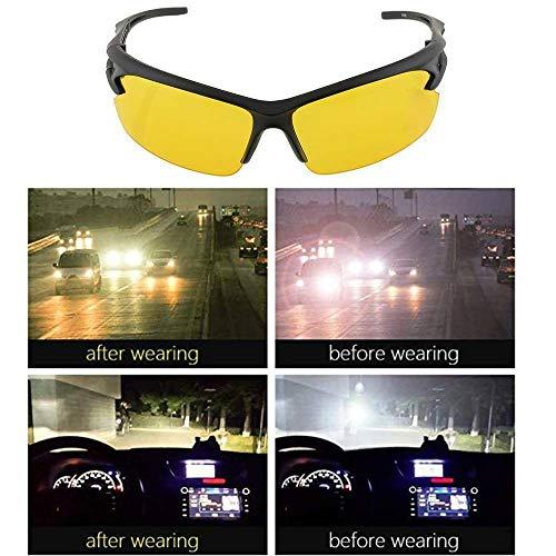 MorNon Gafas visión Nocturna Conducir Gafas Noche