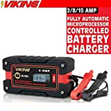 4 amp fully automatic microprocessor controlled battery charger/maintainer