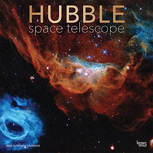 Hubble Space Telescope 2022 12 x 12 Inch Monthly Square Wall Calendar with Foil Stamped Cover, Science Astronomy Technology
