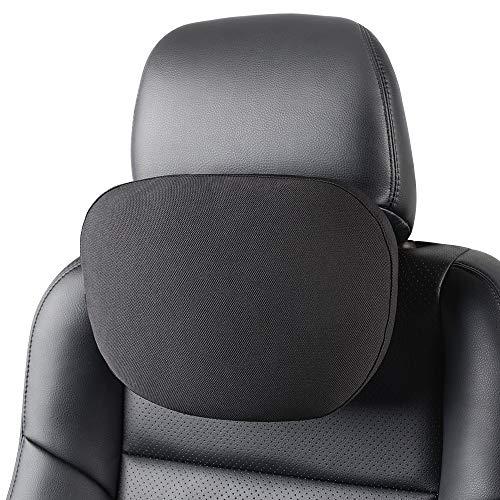 Auto Nackenkissen, Autopre Modify Nackenkissen Schmerzen Linderung Kopfstütze für Fahren & Reise - 1 Pcs (Schwarz)