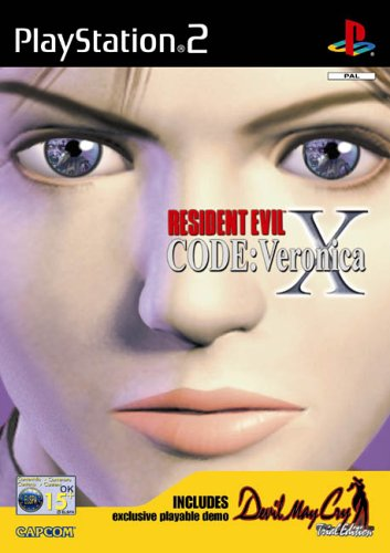 GIOCO PS2 RESIDENT EVIL CODE VERONICA X E DEMO DEVIL MAY CRY