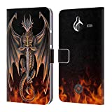 Official Anne Stokes Warrior Dragons 4 Leather Book Wallet