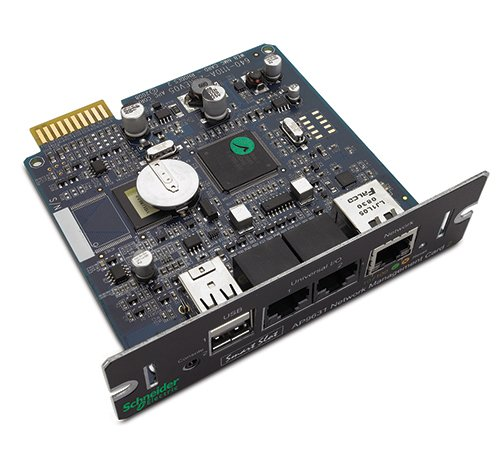 APC AP9631 UPS Network Management Card 2 with Environmental Monitoring...