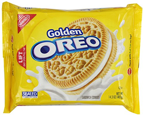 Oreo Golden Sandwich Cookies, 14.3 Ounce