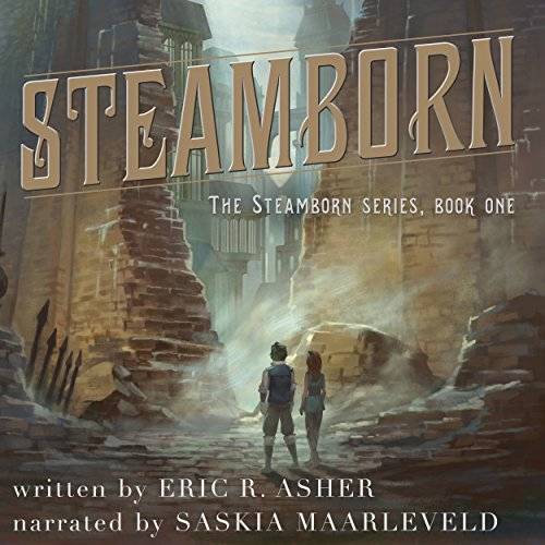 Steamborn audiobook cover art