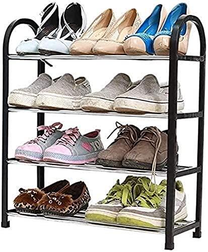 KCGNBQING Zapato Rack Stay Stay Familia Simple práctico Zapatos Zapato Estante Zapato Estante Almacenamiento Vertical Organizador plástico Simple Estante estantería estantería Estante Comedor Sala de