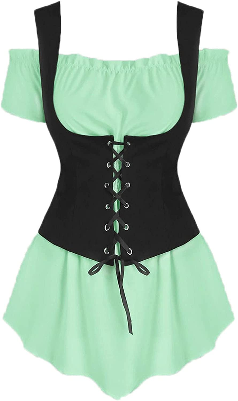 TOPBOOM Women Overseas parallel import regular item Cold Shoulder Short Sleeve Fresno Mall Up Lace Shirt Blou Tops
