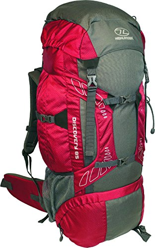 Highlander Discovery RUC182-RD Sac à dos Rouge 31 x 35...