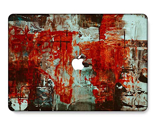 GangdaoCase Plastic Ultra Slim Light Hard Shell Case Cut Out Design for MacBook Air 11 Inch 11.6' A1370/A1465 (Painting B 0589)