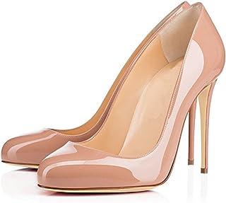 Spun Sugar Women's Round Toes 10cm High Heel Stilettos...