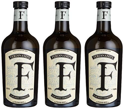 Ferdinand\'S Saar white Vermouth Wermut (3 x 0.5 l)