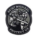 Cobra Tactical Solutions SAINT MICHAEL PROTECT US Parche Bordado Táctico...