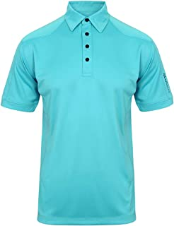 Island Green Men's Golf Moisture Wicking, Quick Drying & Breathable Polo Shirt