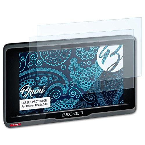 Bruni Schutzfolie kompatibel mit Becker Ready.5 CE Folie, glasklare Displayschutzfolie (2X)