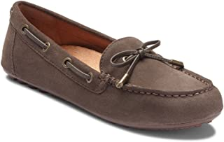 Vionic Womens Honor Virginia Loafer - Ladies Moccasin with Concealed Orthotic Arch Support