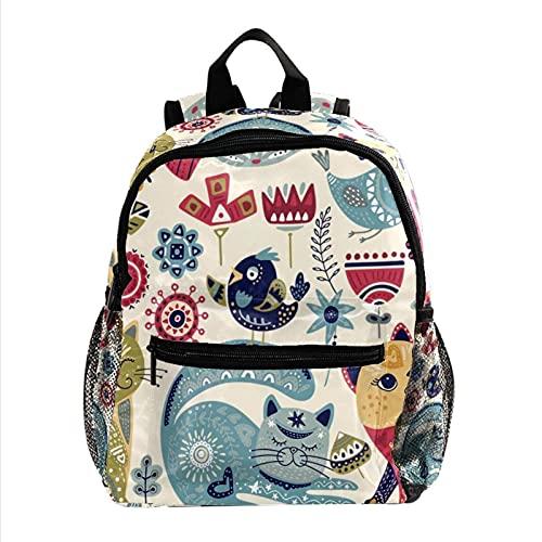 Mochila para niños y niñas, mochila escolar para jardín de infancia, preescolar, bebé, bebé, bebé, bolsa de viaje, hermosa mandala vintage