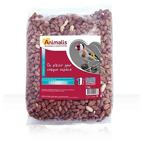Animalis - Cacahuètes pour Oiseaux des Jardins - 1Kg