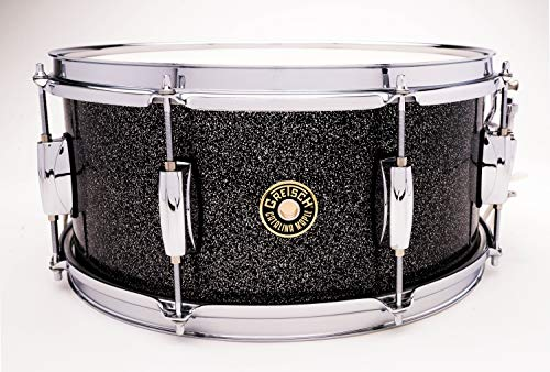 "Gretsch Drums Catalina Maple Black Stardust Snare 6.5x14"" CM1-6514S-BS"