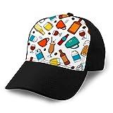dsgdfhfgjghcdvdf 1 Gorra de béisbol clásica Sombrero Algodón Suave Tamaño Ajustable Bebidas sin Alcohol sin Alcohol