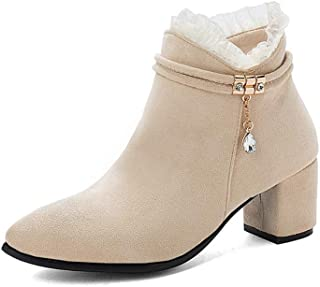 BalaMasa Womens ABS14021 Pu Boots