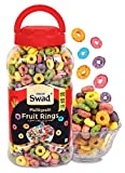 Swad Breakfast Cereal Multigrain Fruit Rings (Made With Oats Rice Corn High Fibree Frooty Loops Cereal For kidsss) Jar 280 G