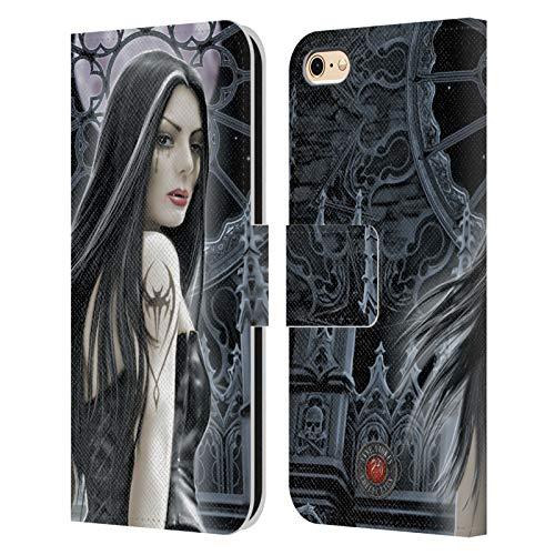 Head Case Designs Licenza Ufficiale Anne Stokes Sirene Gotico Cover in Pelle a Portafoglio Compatibile con Apple iPhone 6 / iPhone 6s