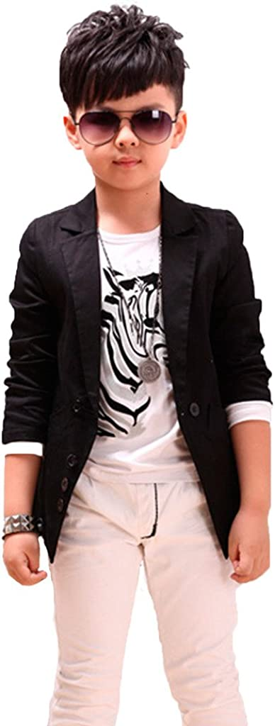 GETUBACK Boys' Fashion Blazers Super-cheap Casual Jackets trend rank