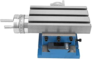 Drill Vise, 4 7.3 Inch Multifunction Compound Slide Working Milling Table Bench Drill Accurate Press Vise Fixture