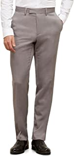 Men's Urban Heather Slim-Fit Flat-Front Dress Pant