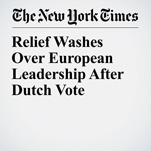 Relief Washes Over European Leadership After Dutch Vote copertina