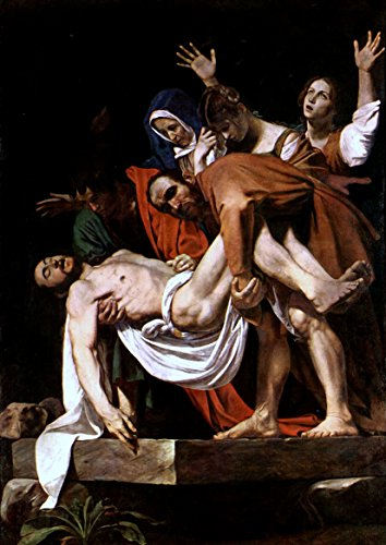 Michelangelo Merisi da Caravaggio: The Entombment of Christ. Fine Art Print/Poster. Size A4 (29.7cm x 21cm)