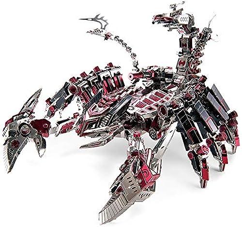 GJQASW 3D Puzzle, dreidimensionales Spielzeug aus Metall-Puzzle-Puzzle DIY montiert, Nicht einfach zu verformen, Nicht leicht zu verblassen, leicht zu montieren und zu speichern