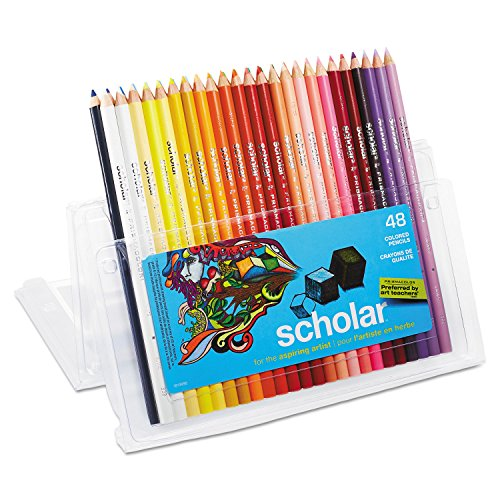 Prismacolor 92807 Scholar Colored Woodcase Pencils 48 Assorted Colors/Set