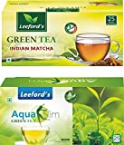 Leeford's Green Tea Aqua Slim and Indian Matcha Flavour For weight Loss