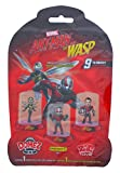 Domez/ Marvel Ant-Man & The Wasp - Series 1 - Collectible Minis | 9 to Collect | Contains 1 Ant Man Movie Character | Collect, Connect & Display These Mini Action Figures | Super Hero Toy Figurines