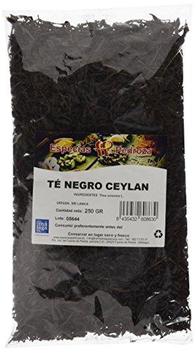 Especias Pedroza Té Negro Ceylan - Paquete de 4 x 250 gr - Total: 1000 gr