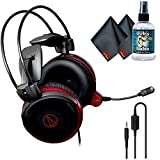Audio-Technica ATH-AG1x High-Fidelity Gaming Headset with 6Ave Headphone Cleaning Kit