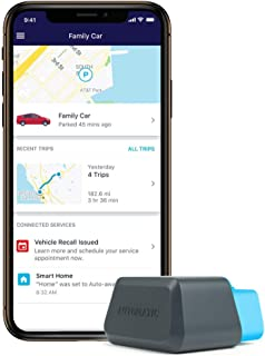 Automatic Connected Car Assistant New AUT-450C, LTE OBD II Adapter and App, Trip..