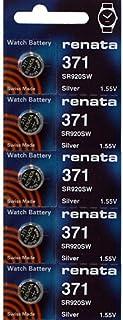 371 Watch battery - Strip of 5 Batteries (Original Version)