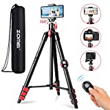 Best Pro Tripods - ZOMEI Phone Tripod, Tripod for iPhone Camera Portable Review