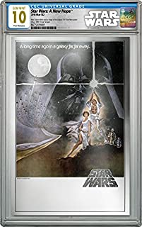 2018 NU Star Wars: A New Hope - 35g Pure Silver Premium Foil Poster - CGC 10 GEM MINT - FIRST RELEASES - $2 Legal Tender Silver Foil - With all Original Packaging $2 Mint State CGC
