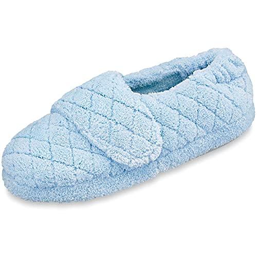 Acorn Women's Spa Wrap, Powder Blue, Medium / 6.5-7.5 Regular US