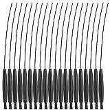 HelloCreate 20 piezas de audífonos de limpieza de cepillo limpiador de cables multifuncional para audífonos
