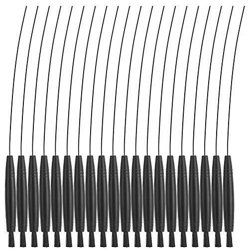 Sorpresa de Verano Limpiador de cables de audífonos, portátil, fácil de usar, más fácil de quitar, kit de limpieza reutilizable, limpiador de cables, limpieza de audífonos, oficina para el hog