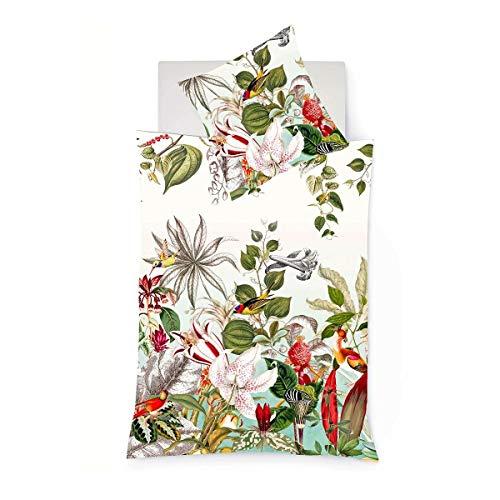 fleuresse Mako-Satin Bettwäsche Bed Art S Southport Multicolor 1 Bettbezug 240 x 220 cm + 2 Kissenbezüge 80 x 80 cm