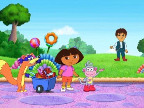 Dora Saves the Three Little Piggies
